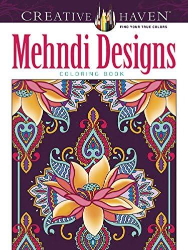 Creative Haven Mehndi Designs Collection Coloring Book Creative Haven Coloring Books product image