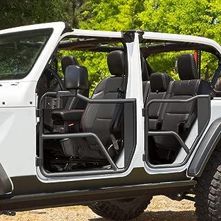 American Modified Front & Rear Tube Half Doors w/Mirrors for 2007-2018 Jeep Wrangler JK Unlimited 4-Door