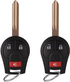 YITAMOTOR 2 Key Fob Car Key Replacementfor CWTWB1U751 Keyless Entry RemoteCompatible for Nissan Frontier Titan Murano & Infiniti FX35 FX45