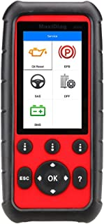 Autel MaxiDiag MD808 Diagnostic Scanner Tool for Engine, Transmission, SRS and ABS Systems with EPB, Oil Reset, DPF, SAS and BMS (Combination of MaxiCheck Pro and MD802)