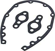TAKPART Timing Chain Cover Gasket Set Compatible for SB Chevy 283 305 327 350 383 400