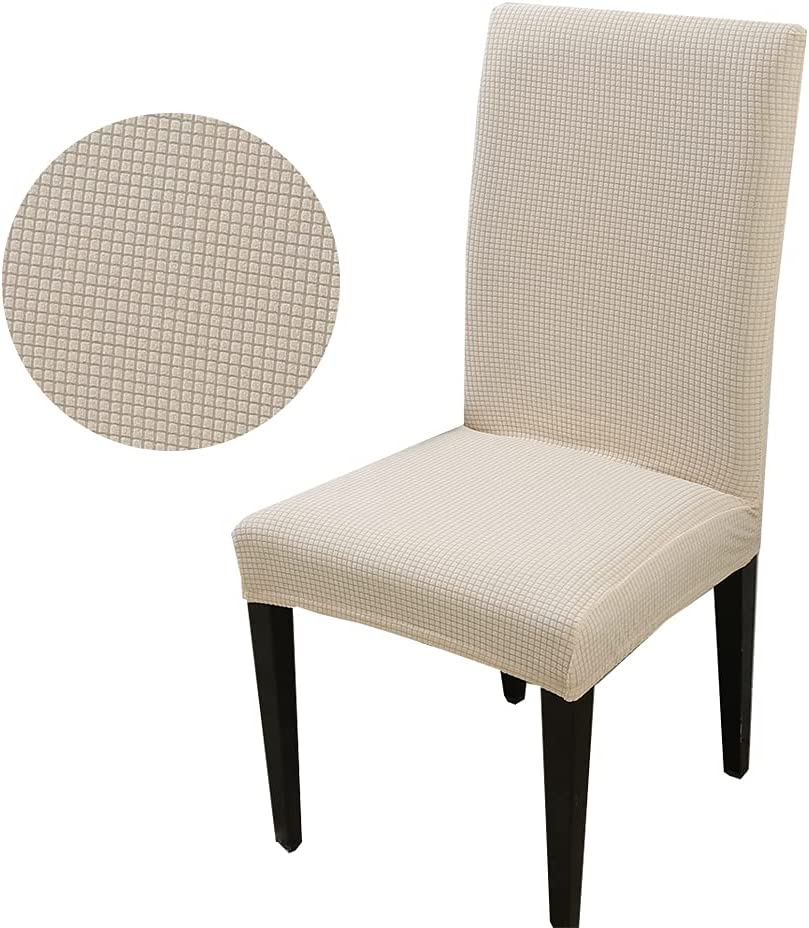 HZDHCLH 6 Pack New Shipping Free Shipping Chair Covers for Dining Directly managed store Stretch Remo Spandex Room