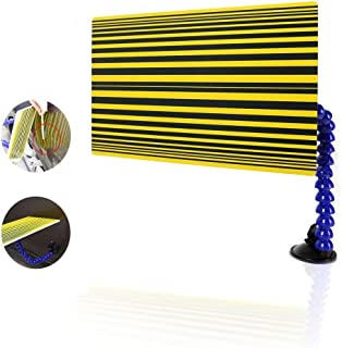 WHDZ Paintless Dent Repair Tool Line Board Reflector Board with Adjustable Holder - Automotive Paintless Dent Repair Tools (Yellow)