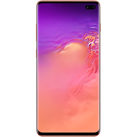 Samsung Galaxy S10Factory Unlocked Android Cell Phone | US Version | 128GBof Storage | Fingerprint ID and Facial Recognition | Long-Lasting Battery | Flamingo Pink