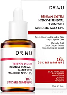 Dr Wu Intensive Renewal Serum Mandelic Acid MA 18% 30ml by
