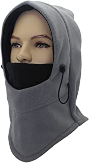 Miracu Balaclava Windproof Ski Face Mask for Women, Soft Warm Fleece Winter Hat
