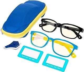 HomeChi Gafas de bloqueo de luz azul, gafas antifatiga para juegos de computadora para niños y adolescentes Gafas de bloqu...