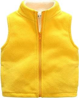pureborn Baby Girls Boys Cotton Warm Jacket Vests Infant to Toddler Padded Waistcoat
