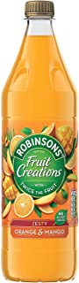 Robinsons Fruit Creations Zesty Orange and Mango Squash (1 L)