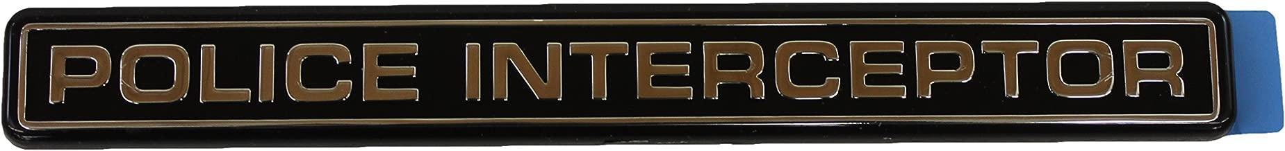 Genuine Ford XW7Z-5442528-AA Nameplate