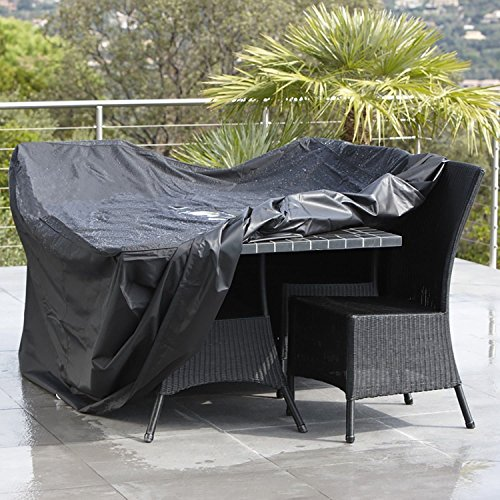 Generic Outdoor Patio Waterproof Dustproof Folding Furnitur Cover Rectangular Table Chairs Protective Cover