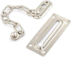 Deurslot 1 ST Chrome Ketting Deur Veiligheid Guard Latch Security Peep Bolt Locks Cabinet Slatches DIY Home Tools 29cm Duu...