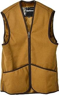 [バブアー] (MLI0004BR31) Warm Pile Waistcoat Zip-In Liner Brown ワームパイルウエストコート ジップインライナー メンズ [並行輸入品]