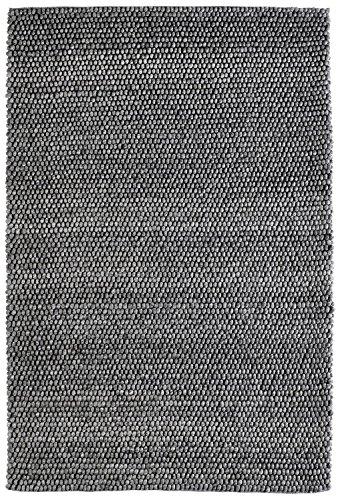 Obsession My Loft- Teppiche, Wolle-Viskose-Mischung, Graphit, 160 x 230 cm