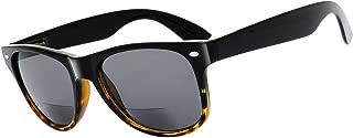 The Fresh Deluxe Bifocal Reading Sunglasses Comfortable Stylish Spring Hinge Sun Readers