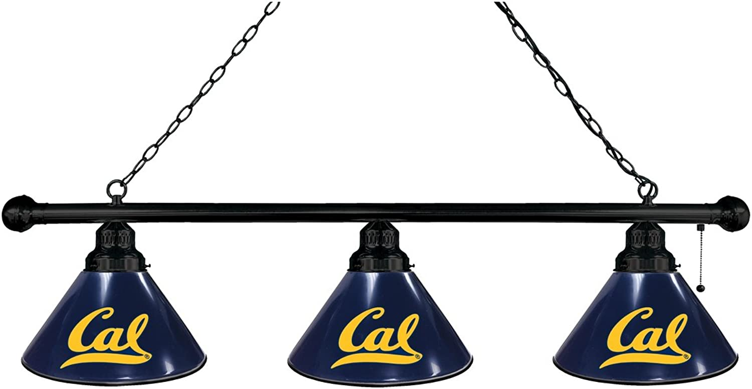Cal 3 Shade Billiard Light with Black Fixture