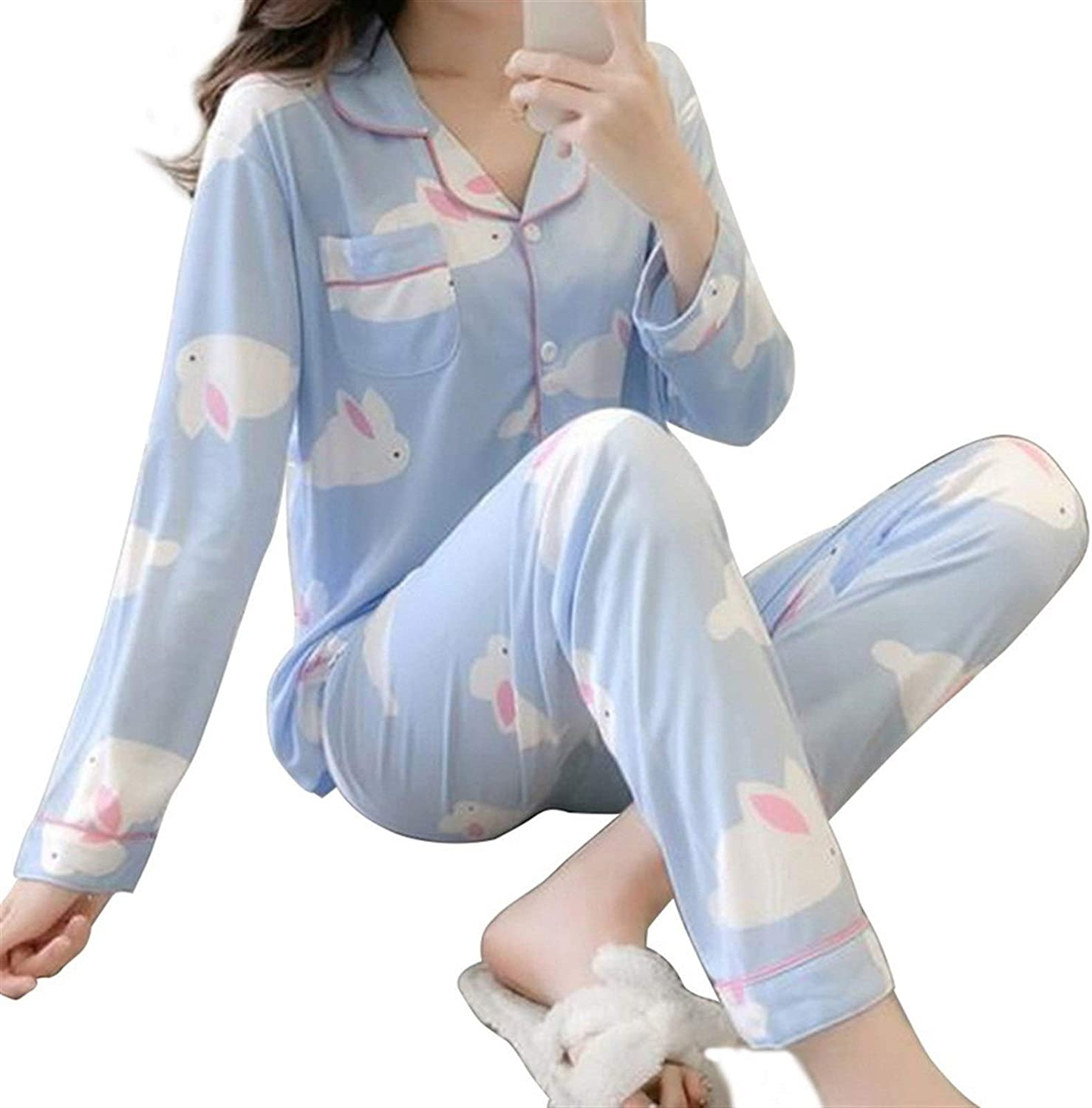 Without Adies Pajamas Matching Pajama 4 years Max 53% OFF warranty Women for Clothe Set