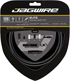 Jagwire Elite Sealed Shift Cable Kit SRAM/Shimano with Ultra-Slick Uncoated Cables