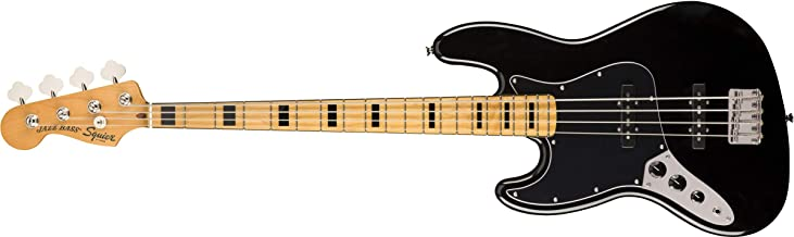 Squier by Fender Classic Vibe 70's Left-Handed Jazz Bass - Maple - Black