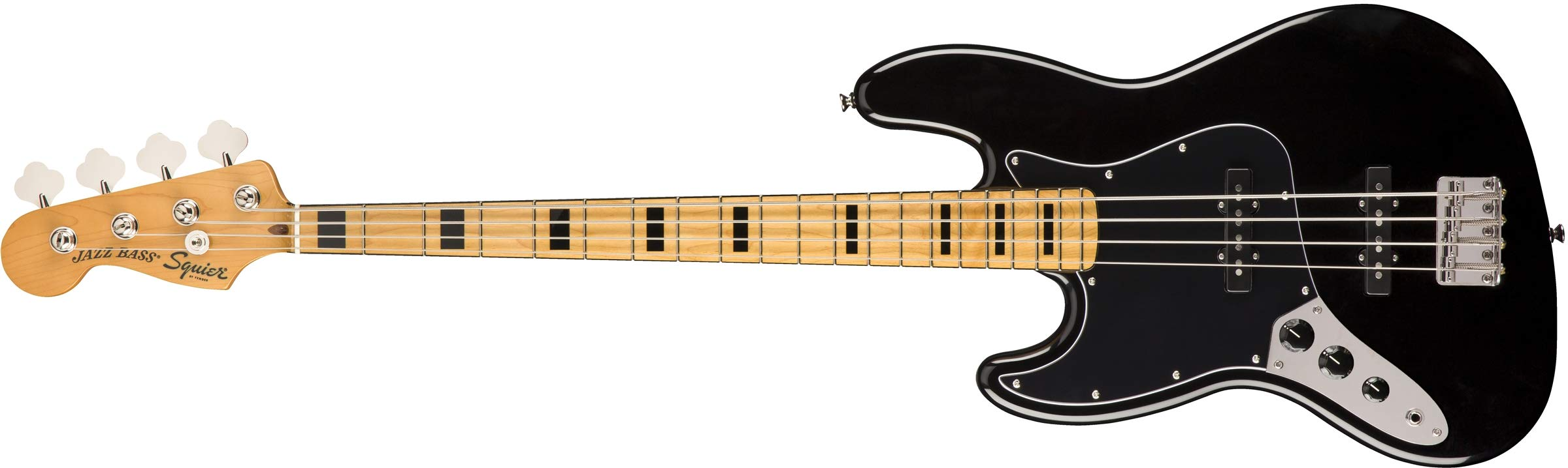 Cheap Squier by Fender Classic Vibe 70 s Left-Handed Jazz Bass - Maple - Black Black Friday & Cyber Monday 2019
