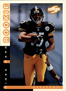 1998 Score Football Rookie Card #252 Hines Ward Mint