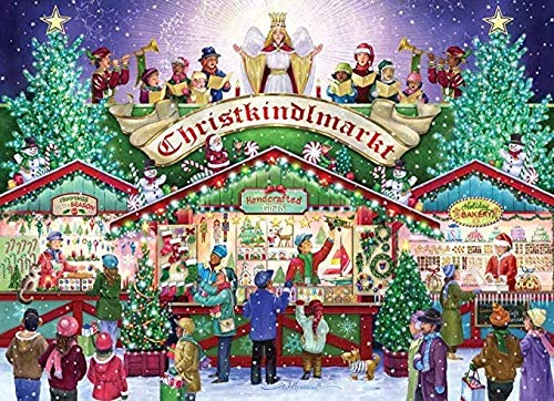 Rompecabezas para Adultos 3000 Piezas - Tienda De Navidad-Rompecabezas 3000 Piezas para Adultos O Kid - Rompecabezas De Juguete De Interior