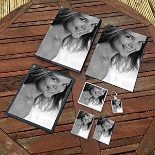 Katie Holmes - Original Art Gift Set #js004 (Includes - A4 Canvas - A4 Print - Coaster - Fridge Magnet - Keyring - Mouse M...