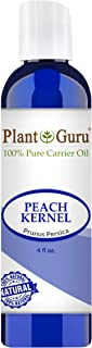 Peach Kernel Oil 4 oz. 100% Pure Natural - Skin, Body And Face. Great for Massage & More!