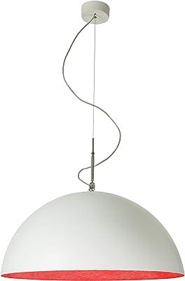 In-es.artdesign Lampada, Bianco/Rosso