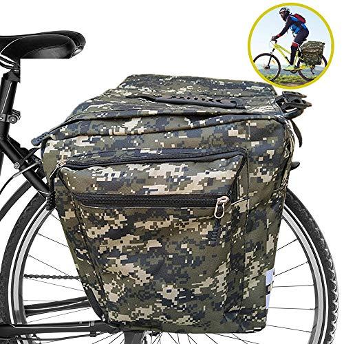 ASANMU Bolsa Trasera para Bicicleta,...