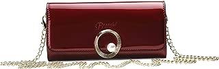 Brangio Italy Pearl Shine Women's Crossbody Clutch Handbag Wallet