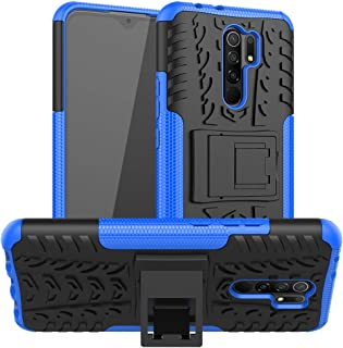 FanTing Case for Xiaomi Poco M2, Detachable 2 in 1 Shockproof Cover [Drop Resistance] [High Impact] [Heavy Duty] [TPU+PC] ...