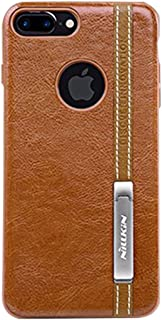 Fashion Leather Case Business-style Leather Design For IPhone 7 Plus All-inclusive PC Case Back Cover With Soft TPU Frame ...