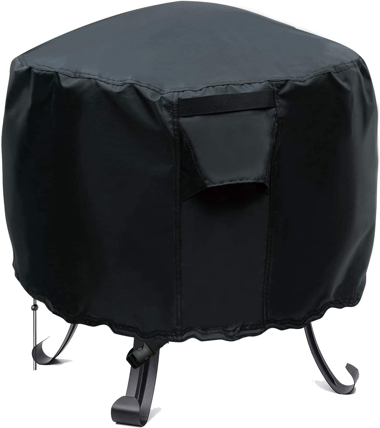 YUZ Fire Pit Cover Popular brand in the world for Round 22 Outdoor Memphis Mall Heavy Duty inch