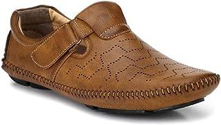 LEVANSE Leather Roman Fashionable & Regular Sandal for Men/Boys