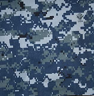 US Navy NWU Digital Blue Nyco Twill 65