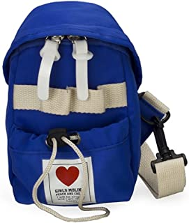 Leng QL Personality Backpacks Children's Accessories Love Messenger Bag Toddler Toy Backpack(Blue)