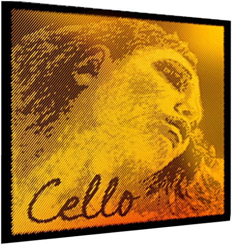 Pirastro 335020 Evah Pirazzi GOLD Cello Satz, mittel