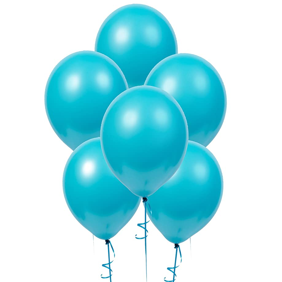 R And T Creations LTD Bermuda Blue (Turquoise) Matte Balloons
