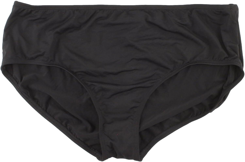 Apt. 9 Black Panty Bikini Swim Bottom for Women (24W)