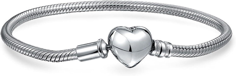 925 Sterling Silver Starter Fashionable Snake Baltimore Mall Bracelet Chain Women Teen for