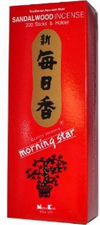 Morning Star Sandalwood Incense, 1000 Sticks