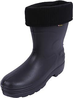 Black rubber boots for men Farmer EVA Demar