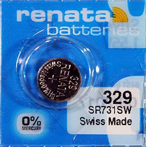 Renata - Knopfzelle Silberoxid 329 RENATA 1.55V 37mAh - Blister(s) x 1