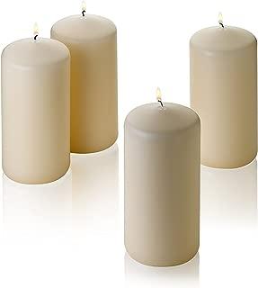 Best tan pillar candles Reviews