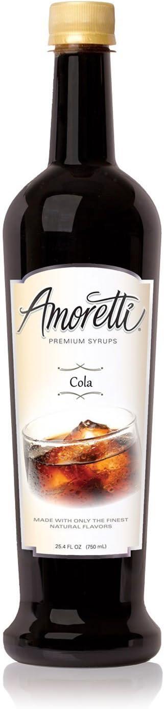 Amoretti Jarabe de Premium, Cola, onza 25,4