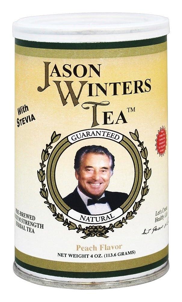 曲線リンケージチョコレート海外直送肘 Pre-Brewed Tea with Stevia, Peach 4 Oz