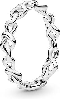 باندورا مجوهرات عقد قلوب الفضة الاسترليني خاتم