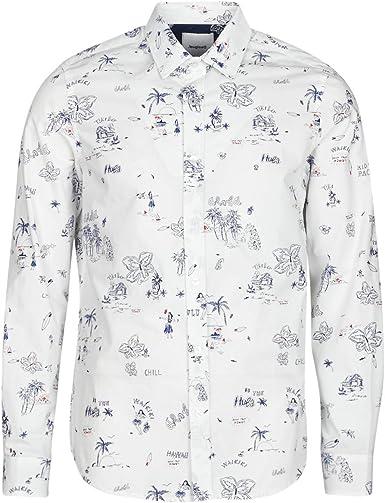 Desigual Ezra - Camisa de manga larga para hombre, color ...