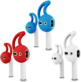 Ear Hook Covers for AirPods, Noise Isolation Silicone Earbuds/Earplug Tips 3 Pair Cover Tips Accessories Compatible with A...